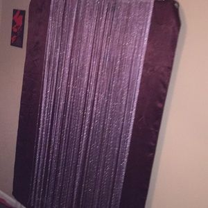 Door divider sparkling purple